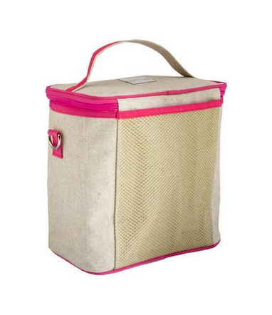 Insulated Cherry Blossom Large Cooler Bag