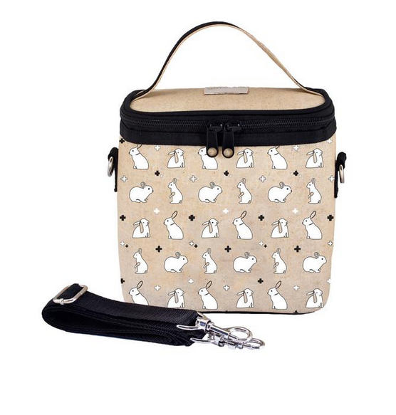 Insulated Bunny Tile Small Cooler Bag