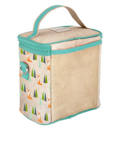 Insulated Olive Fox Small Cooler Bag