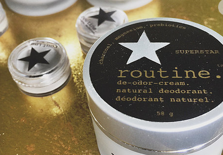 "Natural Deodorant ""SUPERSTAR"" (activated charcoal, magnesium, prebiotics)"
