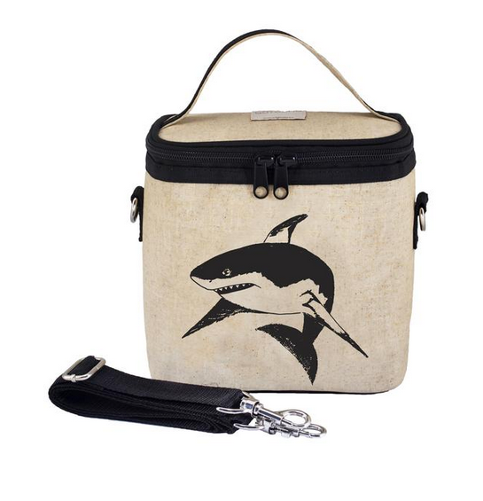 Insulated Black Shark Small Cooler Bag