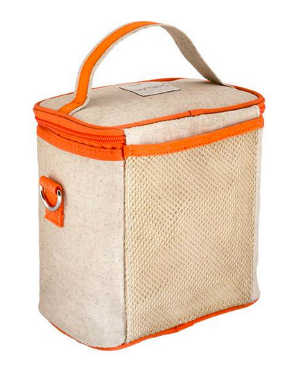 Insulated Orange Fox Large Cooler Bag