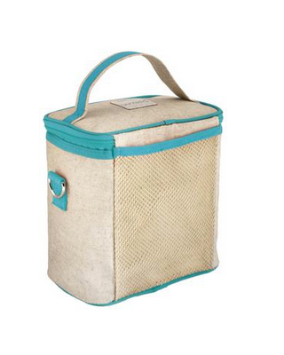 Insulated Aqua Bunny Small Cooler Bag