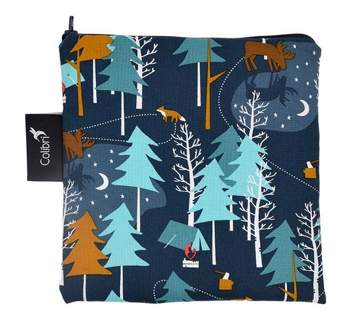 Reusable Snack Bag - Camp Out, Large