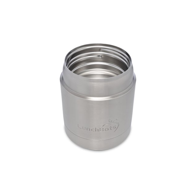 Stainless Steel Insulated Food Container, 8 oz, Blue Lid - Béco