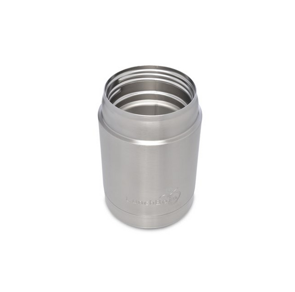 Stainless Steel Insulated Food Container, 12 oz, Green Lid