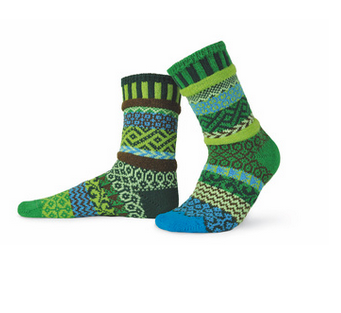 Earth Adult Crew Socks