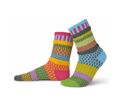 Freesia Adult Crew Socks