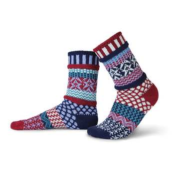 Stars & Stripes Adult Crew Socks