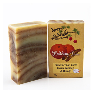 Merry & Bright! Holiday Spice Natural Soap