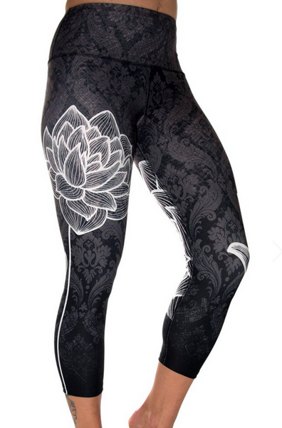 Leggings - Lotus Capri