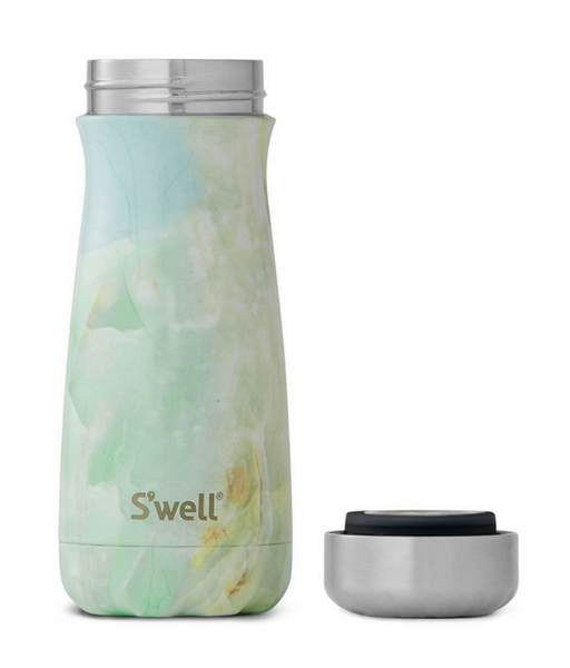 Insulated Stainless Steel Traveler - Opal Marble