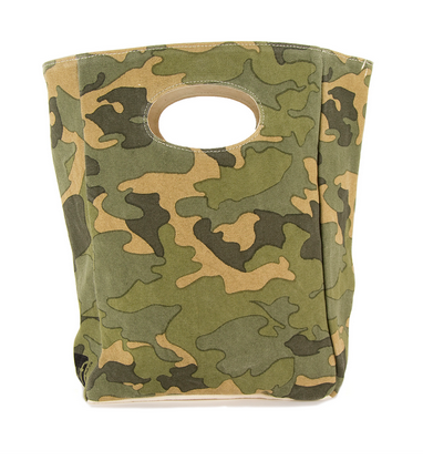 "100% Organic Cotton Lunch Bag ""Camo"""