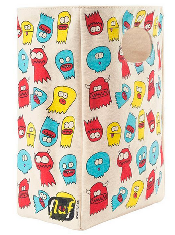 "100% Organic Cotton Lunch Bag ""Jelly Ghosts"""