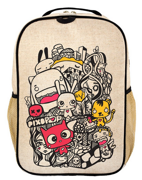 Pixopop Pishi and Friends Grade School Backpack