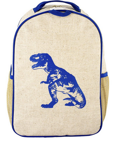 Blue Dino Toddler Backpack