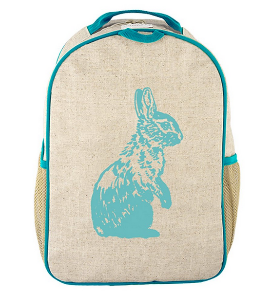 Aqua Bunny Toddler Backpack
