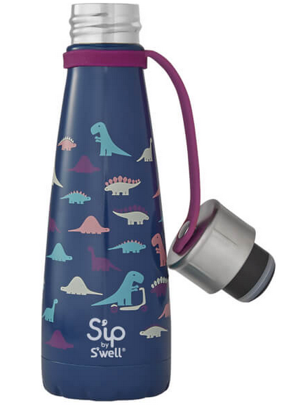 Insulated Stainless Steel Bottle - S'ip by S'well - Dino Days