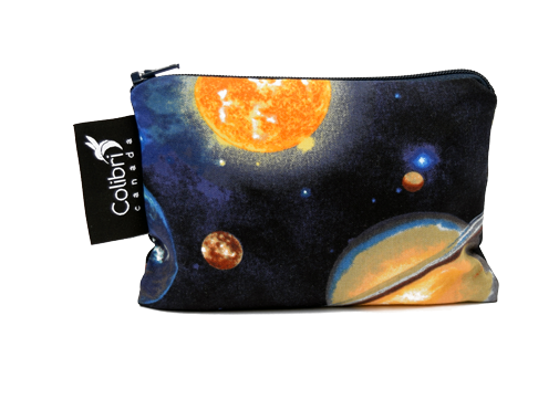 Reusable Snack Bag - Space, Small