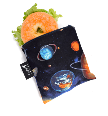 Reusable Snack Bag - Space, Large