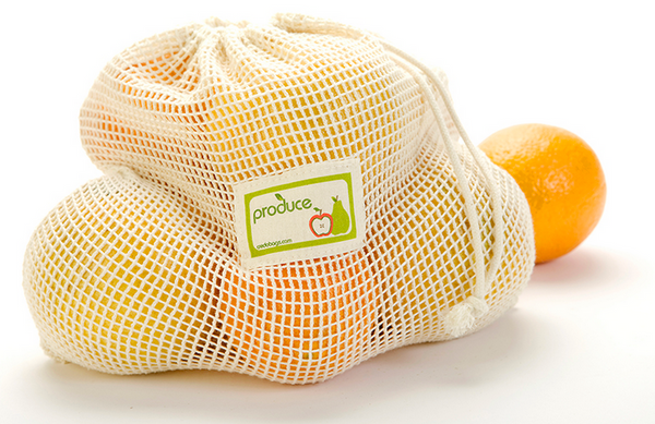 Mesh Produce Bag, 100% Cotton, Medium