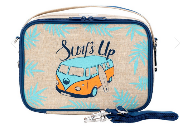 Insulated Blue Surf's Up Yumbox Lunch Box