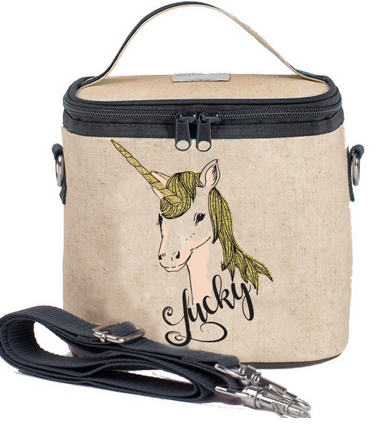 Insulated Lucky Unicorn Small Cooler Bag
