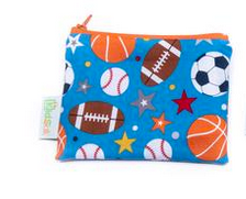Reusable Snack Bag, Small - Sports