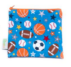 Reusable Snack Bag, Large - Sports