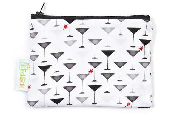 Reusable Snack Bag, Small - Martini
