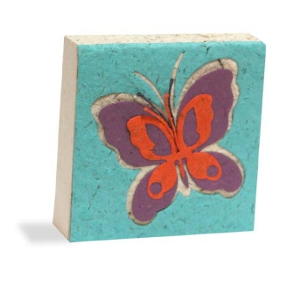 Scratch Pad Butterfly - Purple Orange
