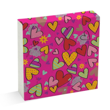 Scratch Pad Hearts 001