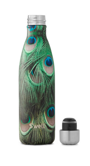 Insulated Stainless Steel Bottle - Peacock