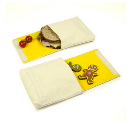 "100% Organic Cotton Snack Packs (set of 2) ""BFF's"""