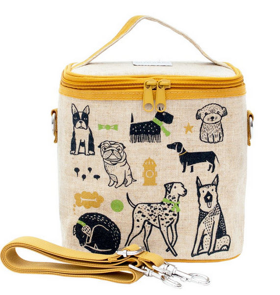 Insulated Wee Gallery Pups Small Cooler Bag