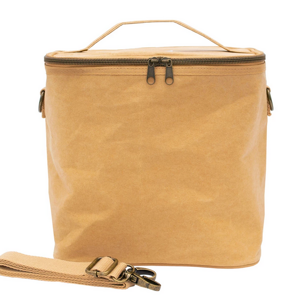 Insulated Lunch Poche, Kraft Paper