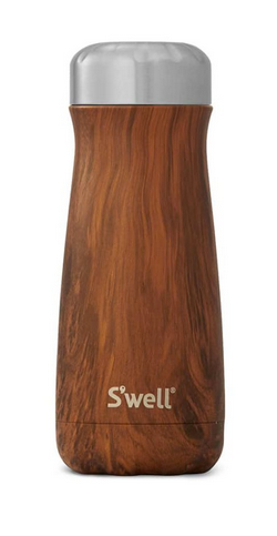 Insulated Stainless Steel Traveler - Teakwood