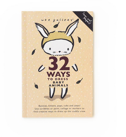 32 Ways To Dress Baby Animals Activity Book