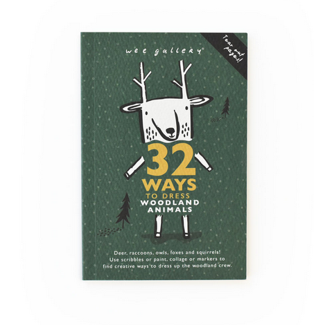32 Ways To Dress Woodland Animals Activity Book