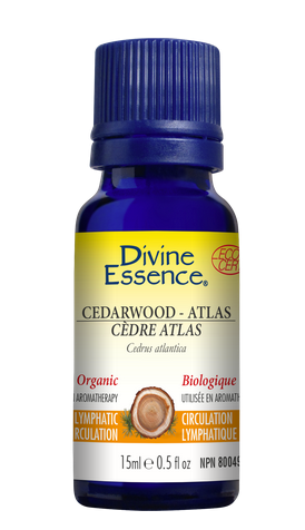 "PURE ESSENTIAL OIL Organic ""Cedarwood - Atlas"""