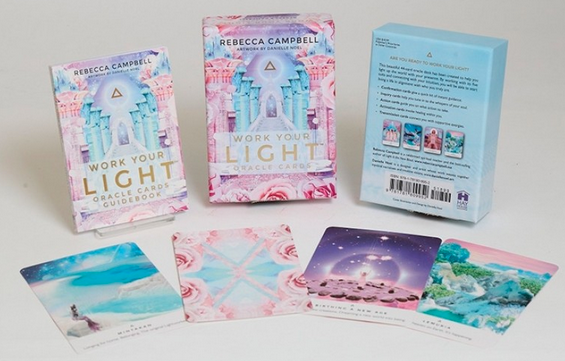 Work your Light Oracle Cards by Rebecca Campbell - 44 Card Deck