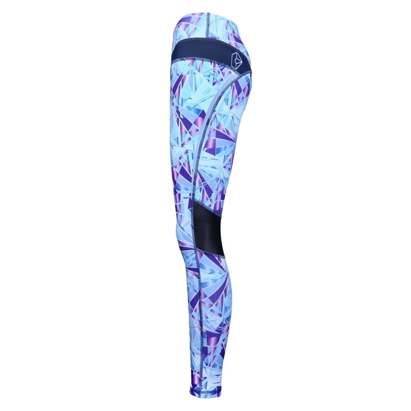 Turquoise Diamond Luxe Legging - by Bellum Active