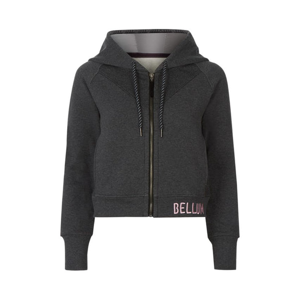 Cropped hoody waist jacket - by Bellum Active