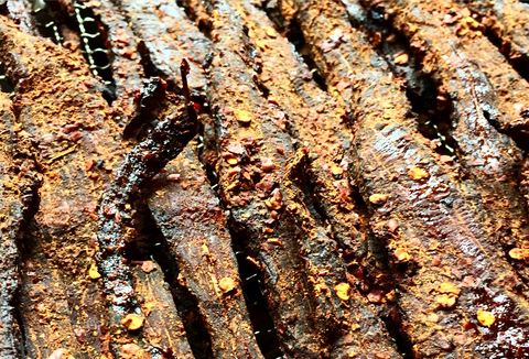 Smoked Beef Jerky (OMFG!!! Spicy)