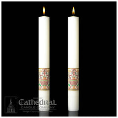 Paschal Complementing Altar Candles