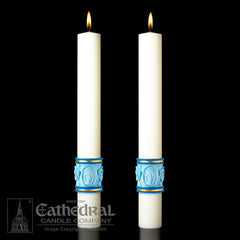 Eximious Complementing Altar Candles