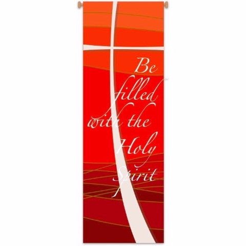 "Slabbinck 7501 ""Be filled with the Holy Spirit""  Banner"