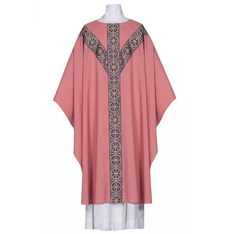 101-0914PO Palermo Rose Chasuble