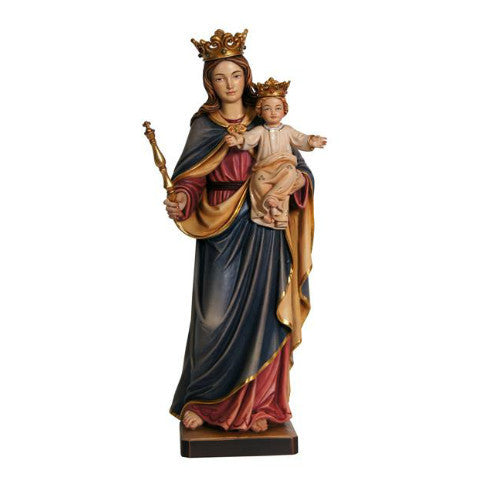 176000 Our Lady Help of Christians Regina coeli Statue