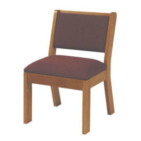 220 Wooden Chair with Seat Cushion